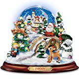 Rudolph The Red-Nosed Reindeer Illuminated And Musical Snowglobe by The Bradford Exchange