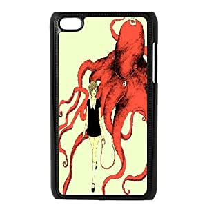 Ipod Touch 4 Phone Case Octopus FH60185