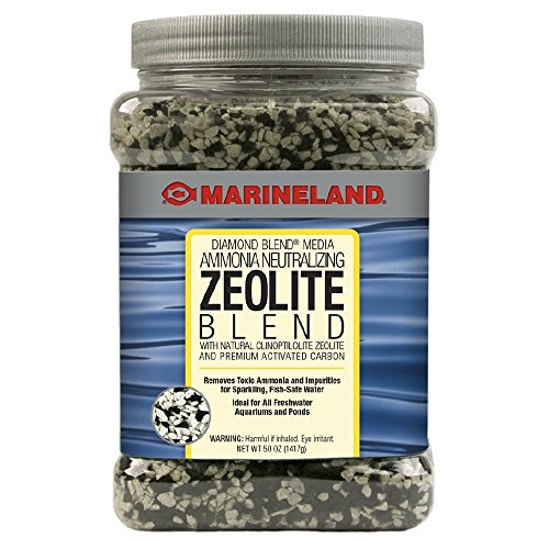 - Marineland PA0392 Diamond Blend Activated Carbon/Ammonia Neutralizing Crystals, 50-Ounce, 1417-Gram