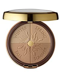 A bronzer with benefits multi-colored bronzing powder provides an instant and lasting tan-boost that blends and builds easily to your desired level of bronze. Customizable palette features four distinct bronzing tones that can be used individ...