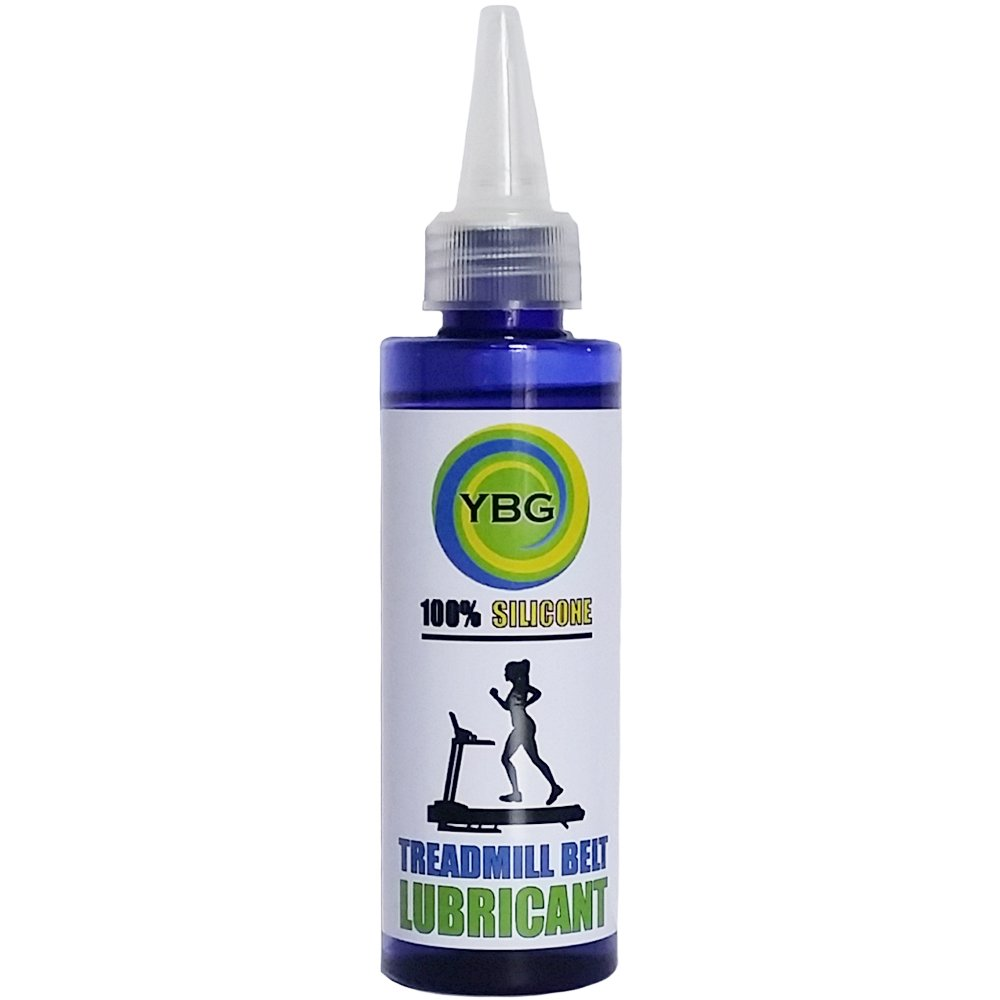 YBG Imports - 100% Silicone Treadmill Belt Lubricant/Treadmill Lube - Easy to Apply Treadmill Belt Lubricant - Silicone Treadmill Oil Non-Toxic Odorless - 4oz - 120ml by YBG Imports