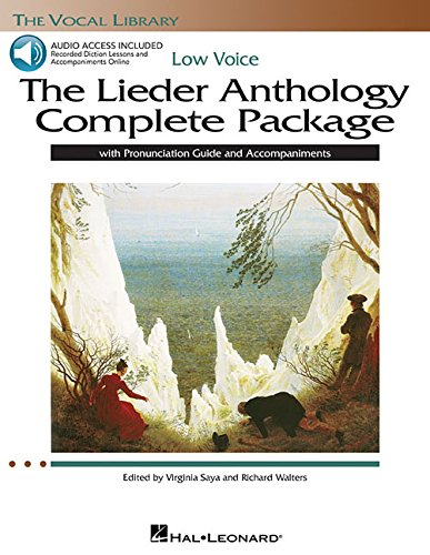 The Lieder Anthology Low Voice Package Book/Pronunciation Guide/Accomp CDs (The Vocal Library) ()