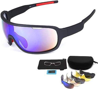 En Exteriores Jinete Media Frame polarizadas Gafas Deportivas/Gafas de Sol, Go Wind y Arena Gafas de Haz/Compacto, Ligero,Gafas polarizadas para Ciclismo Deportivo (Negro): Amazon.es: Electrónica