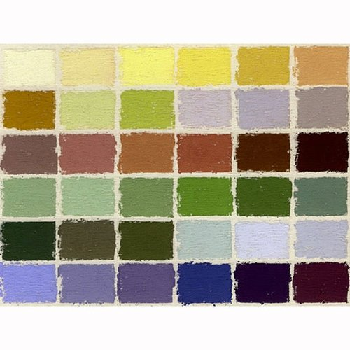 Jack Richeson Unison Pastel Landscape Colors, Set of 36