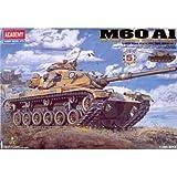 Academy 1/48 US Army Main Battle Tank M60 A1 Tank Plastic Model Kit #13009