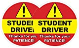 Student Driver Window Cling - Sticker for Car