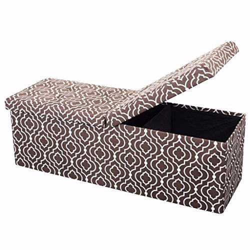 Otto & Ben 45″ Storage Folding Toy Box Chest with
