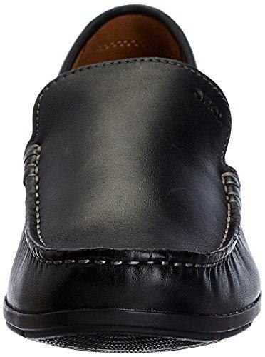 Loafer Uomo Flats A Nero Geox Siron U wOTqnBBg