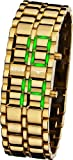 APUS Zeta Gold Green AS-ZT-GG LED Watch for Men Design Highlight, Watch Central