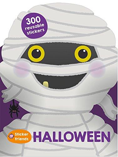 City Of Friends Halloween (Sticker Friends: Halloween: 300 Reusable)