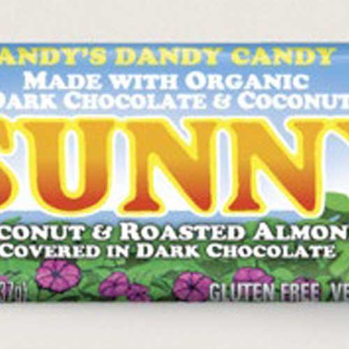 Amys Organic Sunny Candy Bar, 1.3 Ounce -- 12 per case. (Candy Bars Selling)