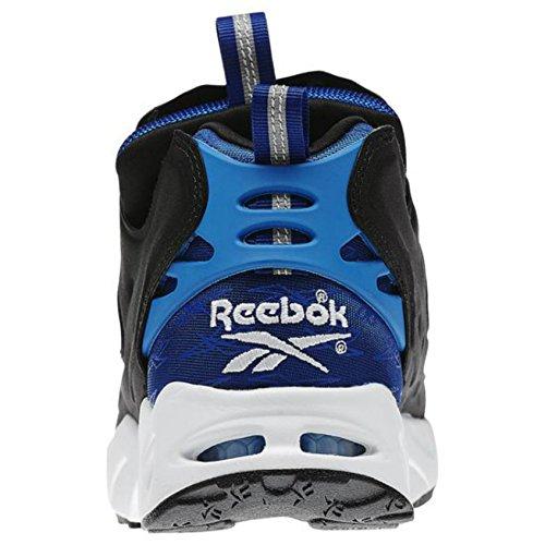 Reebok Hombres Instapump Pump Fury Zapato De Carretera Collegiate Royal / Blue Sport / Blanco / Negro Talla 7.5