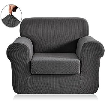 Amazon Com Maytex Pixel Stretch 2 Piece Chair Furniture
