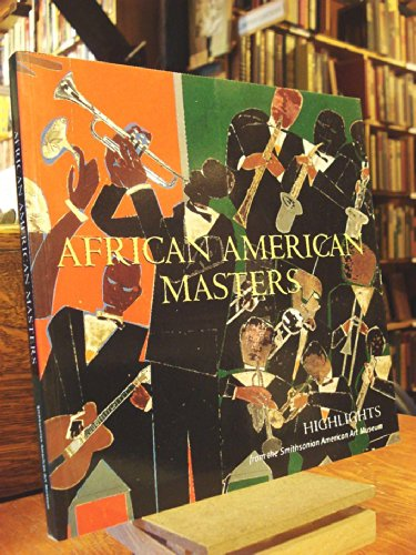 Books : African American Masters: Highlights from the Smithsonian American Art Museum