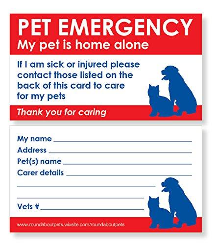 Pets Rescue Stickers X 4 With Bonus Pet Home Alone