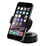 iOttie HLCRIO104 Easy Flex 2 Windshield Dashboard Car/Desk Mount Holder for iPhone 4S/5, Galaxy S4/S3/S2, HTC One, Nokia Lumia 920 – Retail Packaging – Black image