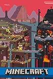 GB eye 61 x 91.5 cm Minecraft World Maxi Poster
