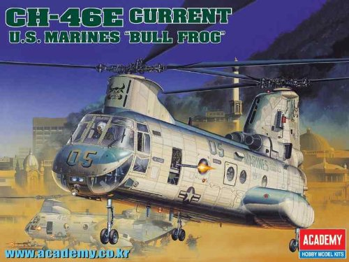 1/48 CH-46E US Marines Bull Frog 12283 (2226)