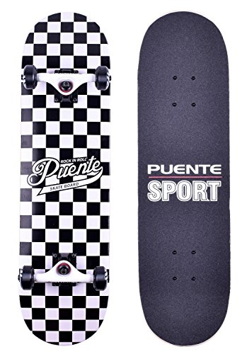Puente Pre Assembled Complete Skateboard Longboard