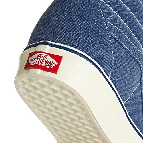 Vans Old Skool Scarpe In Pelle Premium Blu Vero