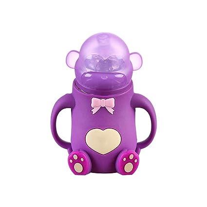 ZRK Nueva Gravedad Bola diseño Creativo Mono bebé Silicona ...