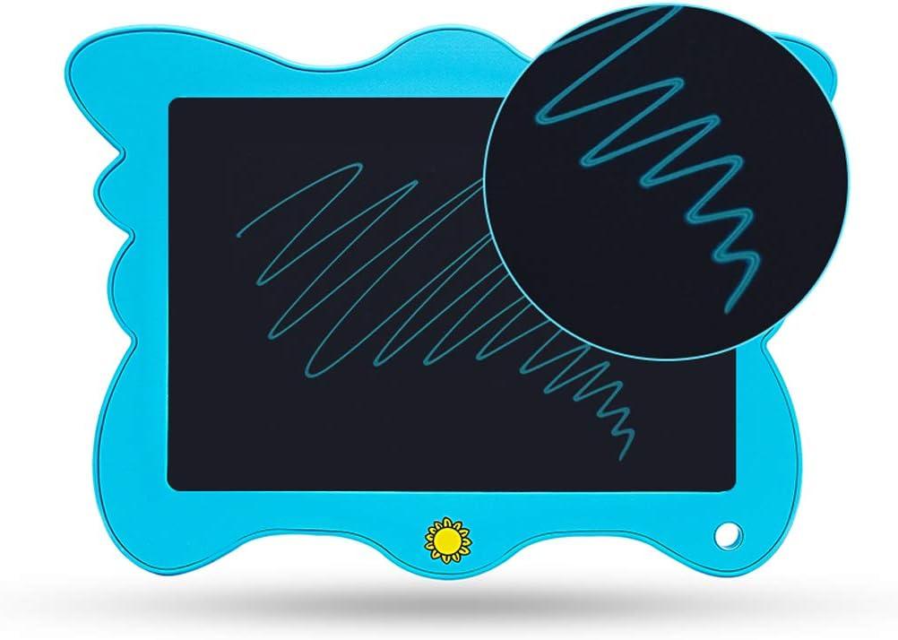 Childrens LCD Writing Board Handwritten Board Drawing Board Light Energy Blackboard Graffiti Butterfly Painting Electronic Board Orange