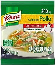 Knorr® Caldo de Pollo en polvo de 200 gramos. Sin saborizantes artificiales, bajo en grasa y hecho con vegetal