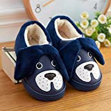 Aemember The Children Of Wool And Cotton Slippers With Waterproof Leather Bag And Baby Winter Indoor Home Furnishing Thick Non Slip Bottom Warm,21 Yards