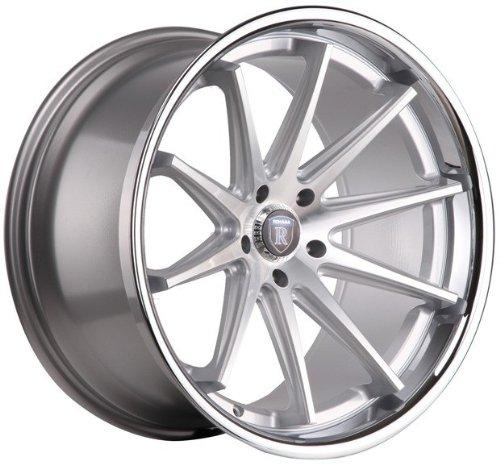 Amazon Com 19 Wheels Rohana Rc10 19x8 5 19x9 5 Machined Silver
