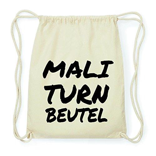 JOllify MALI Hipster Turnbeutel Tasche Rucksack aus Baumwolle - Farbe: natur Design: Turnbeutel