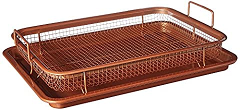 Copper Crisper Tray - 2 Pc Set (Crisper Trays)