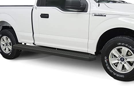 Wheel To Wheel Running Boards >> Aps Wheel To Wheel Running Boards 6in Custom Fit 2015 2020 Ford F150 Regular Cab 6 5ft Bed Pickup 2 Door 2017 2020 Ford F 250 F 350 Super Duty Nerf