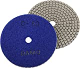 DAMO Diamond Polishing Pad 5 inch Dry Grit 50 for
