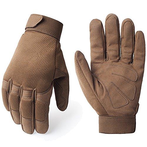 Brown Gloves - 8