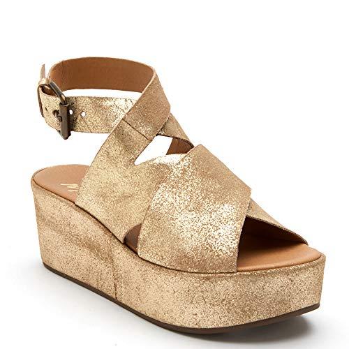 Matisse Runaway Women's Sandal 7 B(M) US Gold