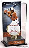 Adam Jones Baltimore Orioles Autographed Baseball and Gold Glove Display Case with Image - Fanatics Authentic Certified