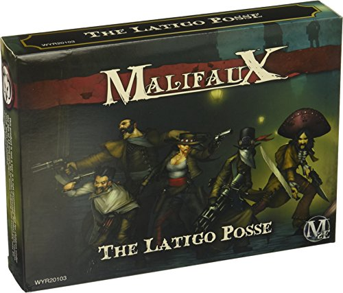 Wyrd Miniatures Malifaux Latigo Posse Model Kit 3