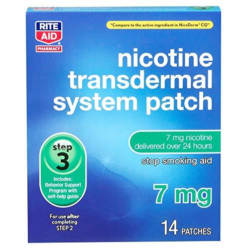 Rite Aid Nicotine Patch - Step 3 | 7 mg - 14