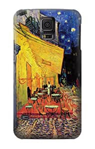 S0929 Van Gogh Cafe Terrace Case Cover For Samsung Galaxy S5