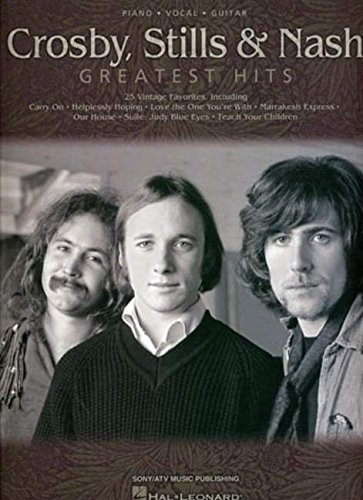 Crosby, Stills and Nash: Greatest Hits (Piano/Vocal/Guitar) by Brand: Hal Leonard Corporation