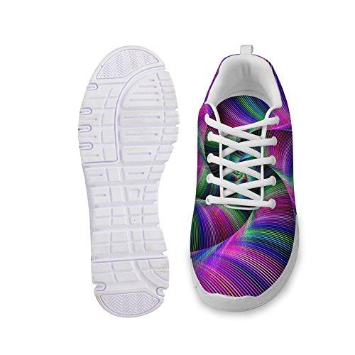 Knuffels Idee Hugsidea Kleurrijke Damesmode Sneakers Lichtgewicht Hardloopschoenen Kleurrijke 5