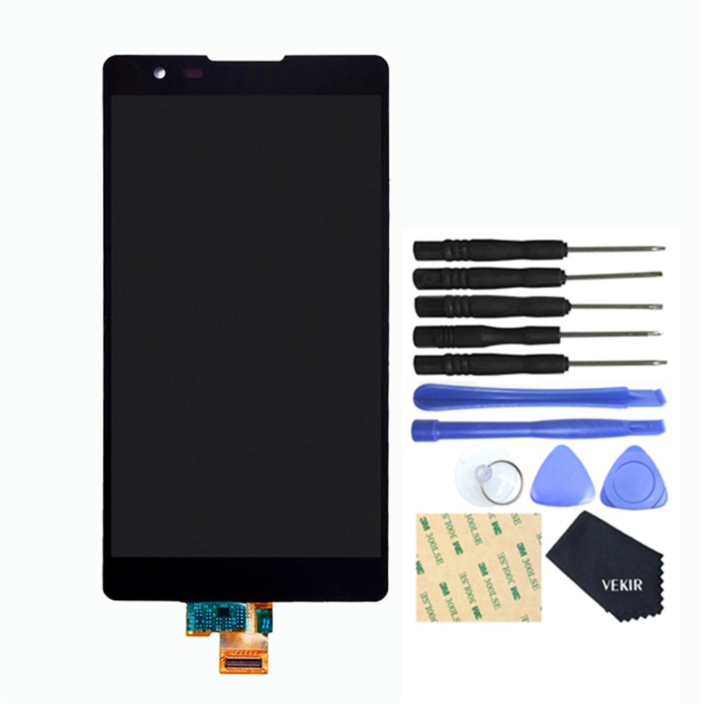 VEKIR Touch Display Digitizer Screen Replacement for LG X Power K220DS K220 LS755 US610(Black)