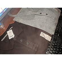 ST Johns Bay Long Sleeve Polo Shirt Mens Small