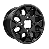 CAN-AM MAVERICK X3 14 X 8 INCH ALUMINUM STANDARD BLACK X3 REAR RIM # 705502493