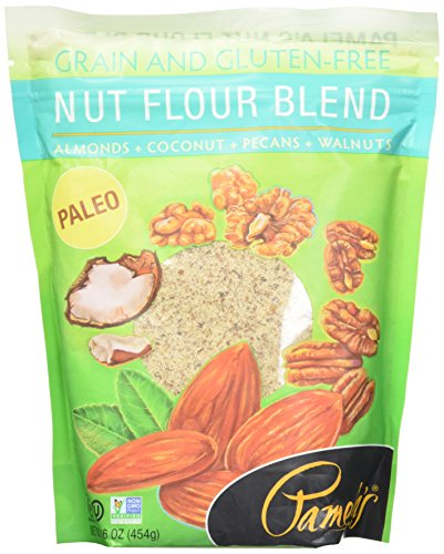 Pamela's Products Gluten Free Nut Flour Blend, 16 Ounce