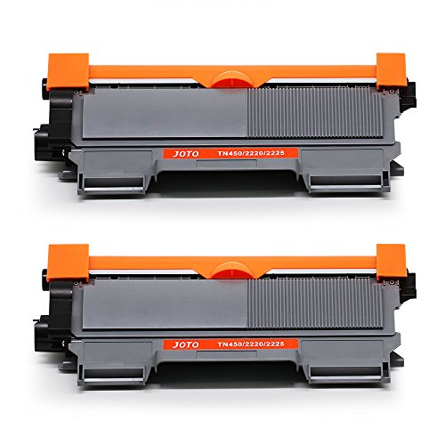 JOTO 2 Pack TN450 Compatible Toner Cartridge Replacement for Brother TN450 TN-450 TN 450 TN420 TN-420 High Yield for Brother HL-2270DW HL-2280DW HL-2230 HL-2240D HL-2240 MFC-7860DW MFC-7360N MFC-7460D
