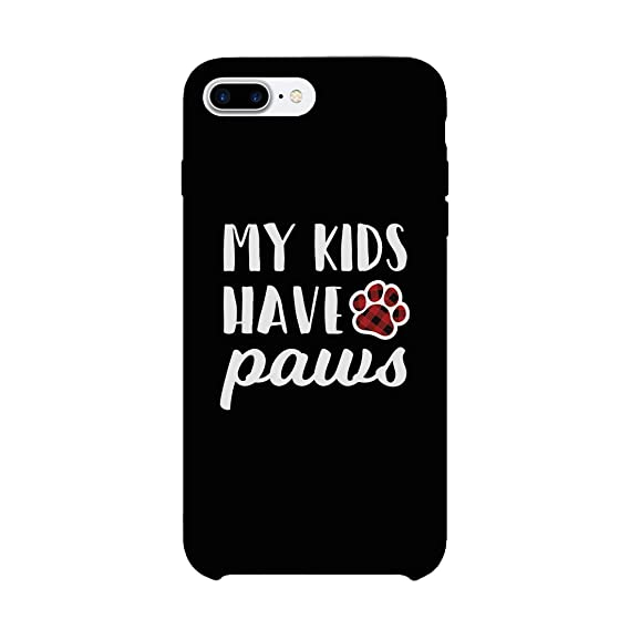 online retailer 3429e 37636 Amazon.com: 365 Printing My Kids Have Paws Dog Mom Phone Case Cute ...