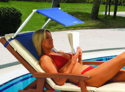 Lightweight Portable Beach and Outdoor Sunshade providing 50+ UV,UVA,UVB, Sun Protection (SUNSHADE ONLY, CHAIR NOT INCLUDED) -