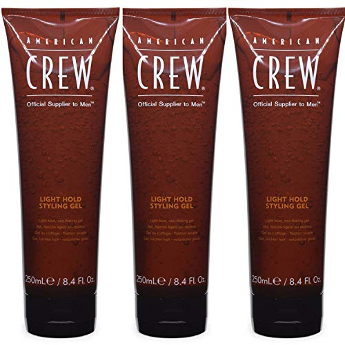 American Crew Light Hold Styling Gel 8.4 oz (Pack of 3) American Crew Light Hold Gel