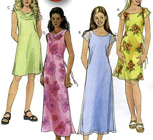 cowl neck dress patterns - 1